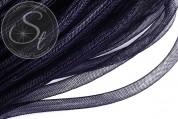 0,5 Meter schwarzer Netzschlauch 8mm-20