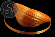 5m oranges Satinband 6mm-20