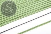 1m hellgrünes Soutache-Band fein 3mm-20