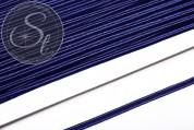 1m olympiablaues Soutache-Band fein 3mm-20