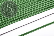 1m grünes Soutache-Band fein 3mm-20