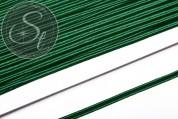 1m dunkelgrünes Soutache-Band fein 3mm-20