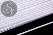 1m weißes Soutache-Band grob 3mm-20