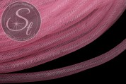 3 Meter roséfarbener Netzschlauch 8mm-20