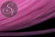 0,5 Meter rosa Netzschlauch 4mm-20