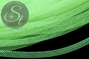 0,5 Meter neon grüner Netzschlauch 4mm-20