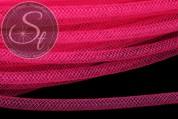0,5 Meter neon pinker Netzschlauch 4mm-20