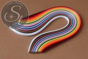 """Über 100 Stk. Mix Quilling Papier-Streifen """"Alle Farben"""" ~3mm-20"""