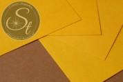 """1 Stk. Papier-Bogen """"Deep Yellow"""" ~10,5cm x 7cm-20"""