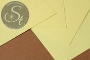 """1 Stk. Papier-Bogen """"Pale Yellow"""" ~10,5cm x 7cm-20"""