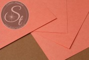 """1 Stk. Papier-Bogen """"Coral"""" ~10,5cm x 7cm-20"""