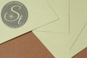 """1 Stk. Papier-Bogen """"Moss Green"""" ~10,5cm x 7cm-20"""