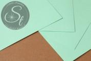 """1 Stk. Papier-Bogen """"Mint Green"""" ~10,5cm x 7cm-20"""