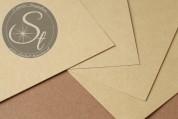 "1 Stk. Papier-Bogen ""Beige"" ~10,5cm x 7cm-20"