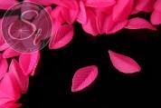 10 Stk. zyklamfarbene Acryl-Blätter frosted 35mm-20