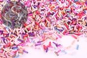 20g zylindrische Glas Seed Perlen Mix ~6,5mm-20