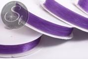 15m lila elastischer Nylonfaden 0,6mm-20